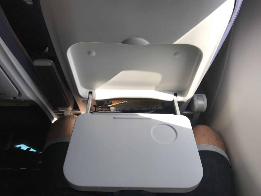 Cebu Pacific Review Tray Table