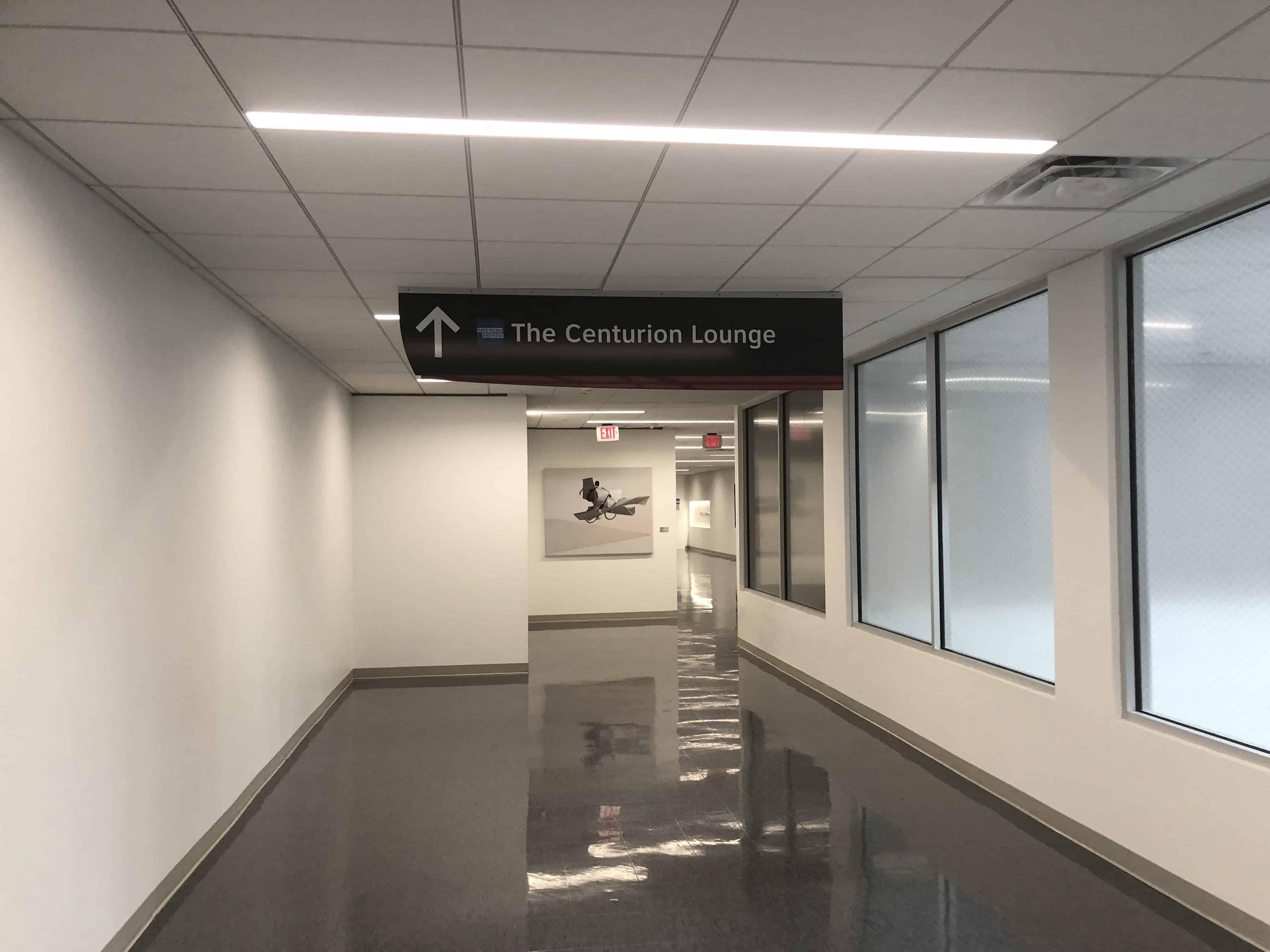 Centurion Lounge IAH Zugang