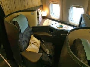 China Airlines Boeing 777-300ER Business Class