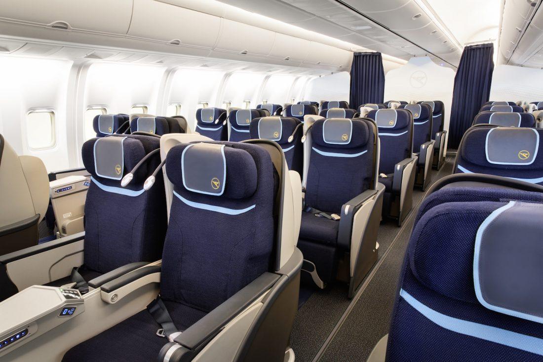 Condor Business Class Kabine