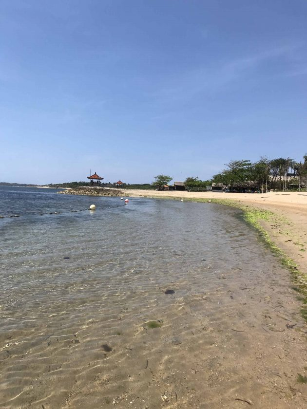 Conrad Bali Review Beach 1