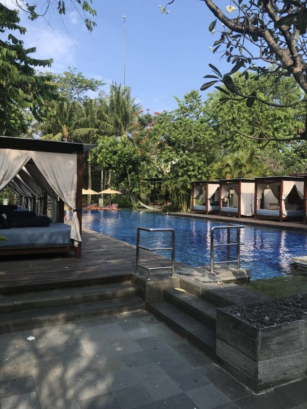 Conrad Bali Review Conrad Suite Pool 2