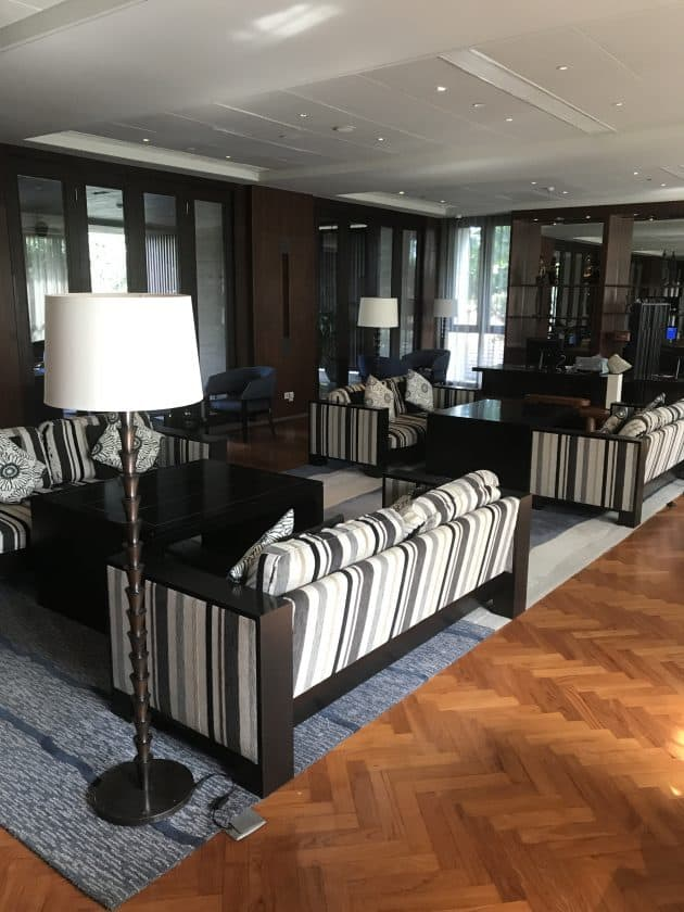 Conrad Bali Review Executive Lounge 1