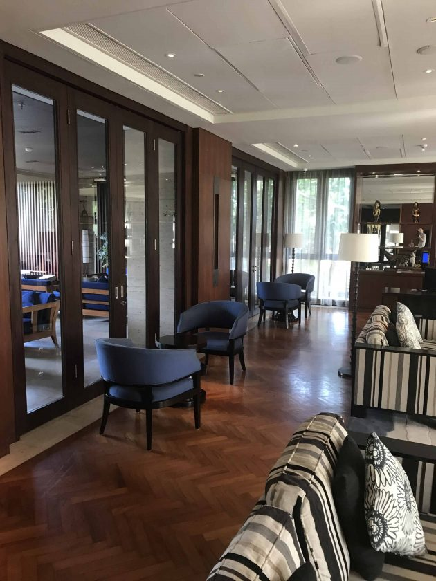 Conrad Bali Review Executive Lounge 2