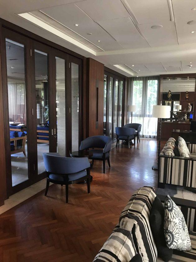 Conrad Bali Review Executive Lounge 2