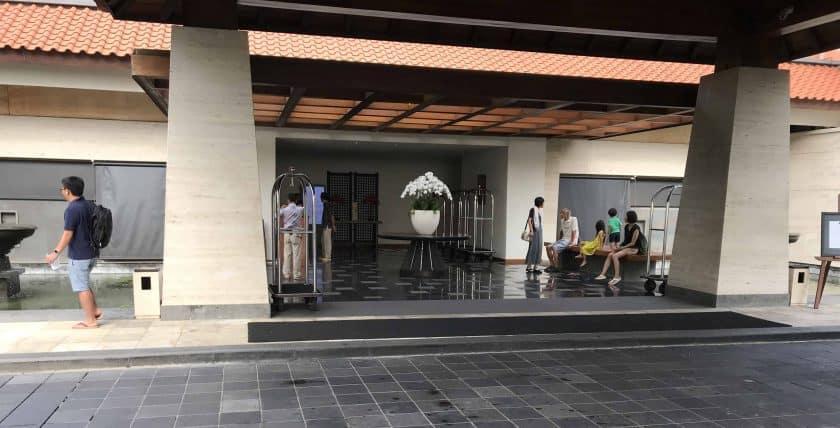 Conrad Bali Review Main Lounge Closed