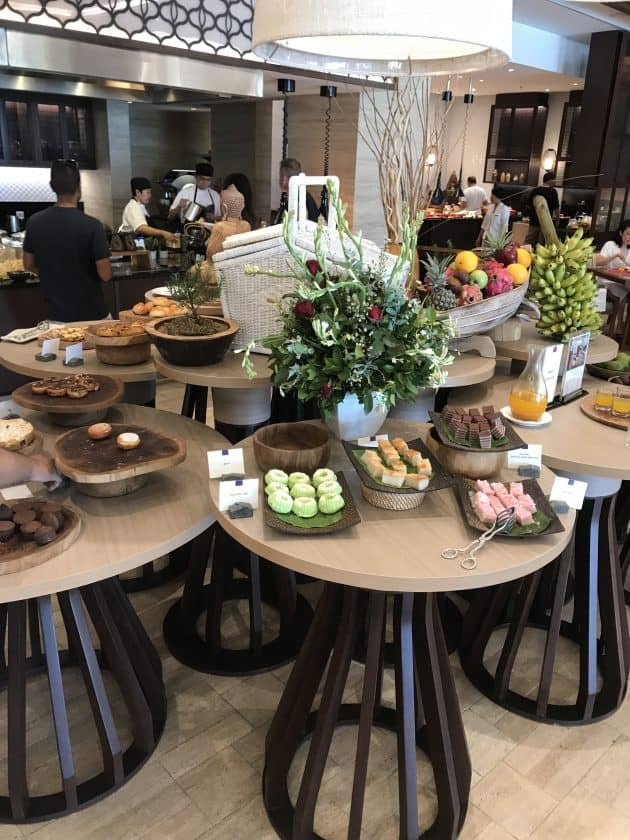 Conrad Bali Review SUKU Restaurant Breakfast 1