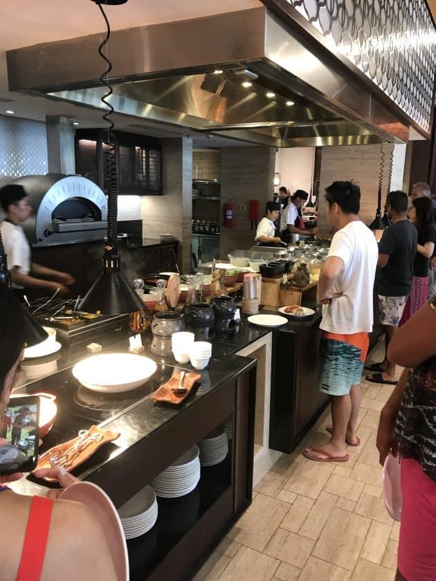 Conrad Bali Review SUKU Restaurant Breakfast 2