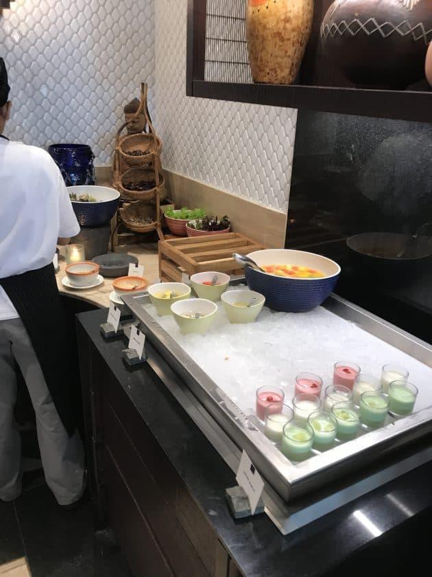 Conrad Bali Review SUKU Restaurant Breakfast 3