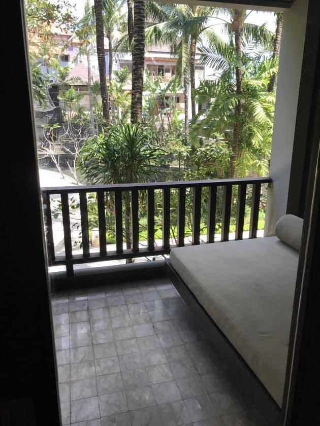 Conrad Bali Review Suite Balcony 2