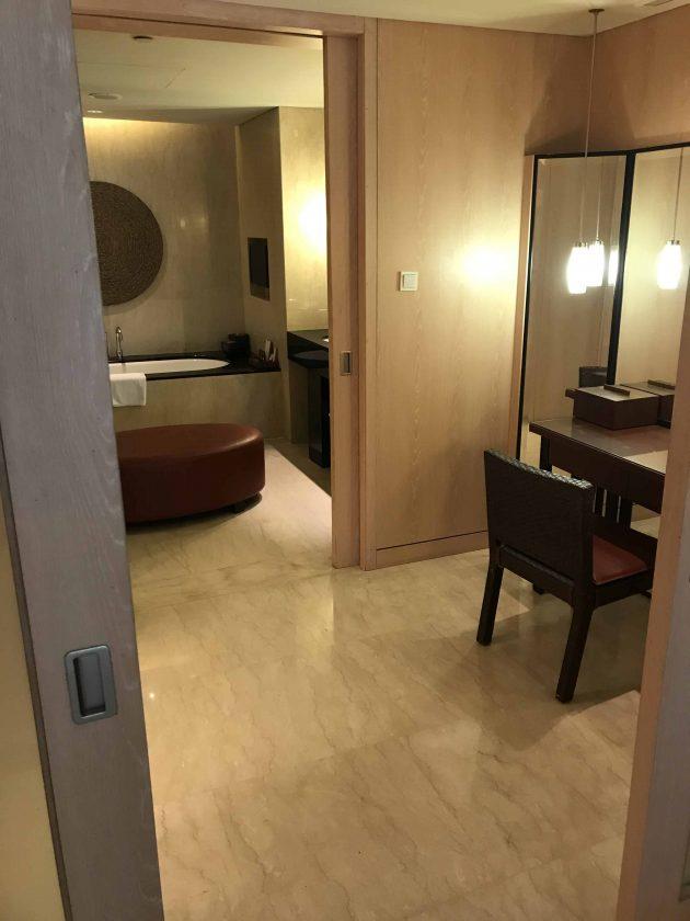 Conrad Bali Review Suite Bathroom 1