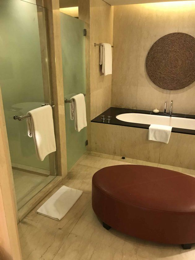 Conrad Bali Review Suite Bathroom 2