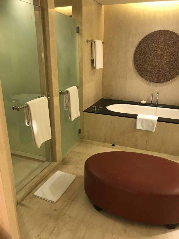 Conrad Bali Review Suite Bathroom 2
