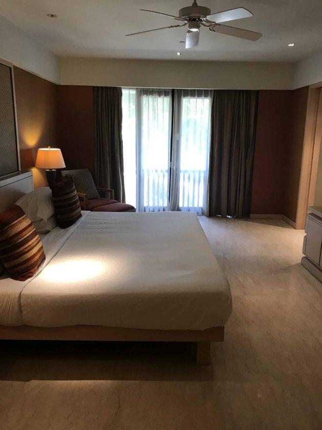 Conrad Bali Review Suite Bed 2