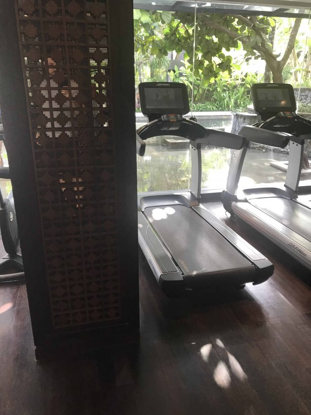 Conrad Bali Review Suite Gym 4