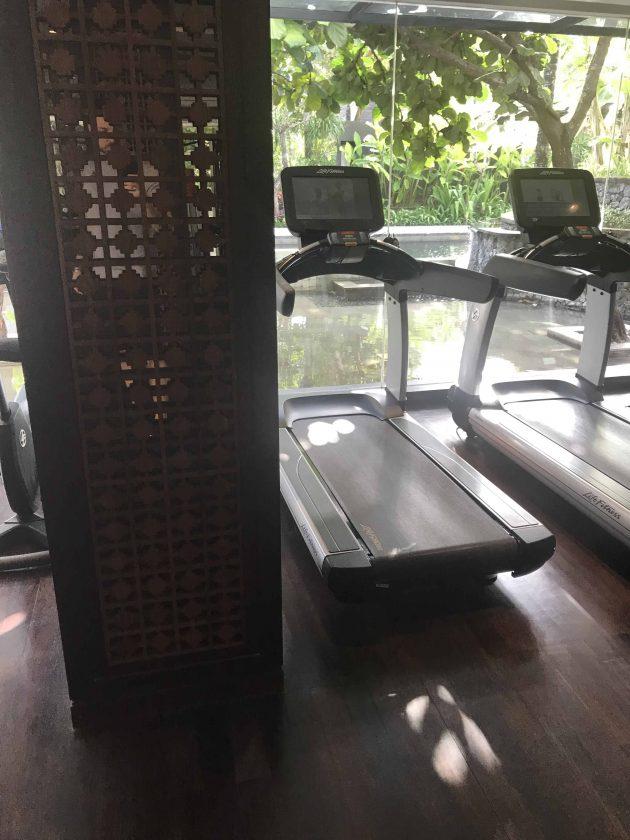 Conrad Bali Review Suite Gym 4