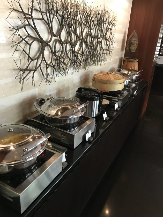 Conrad Bali Review Suite RIN Restaurant Breakfast 1