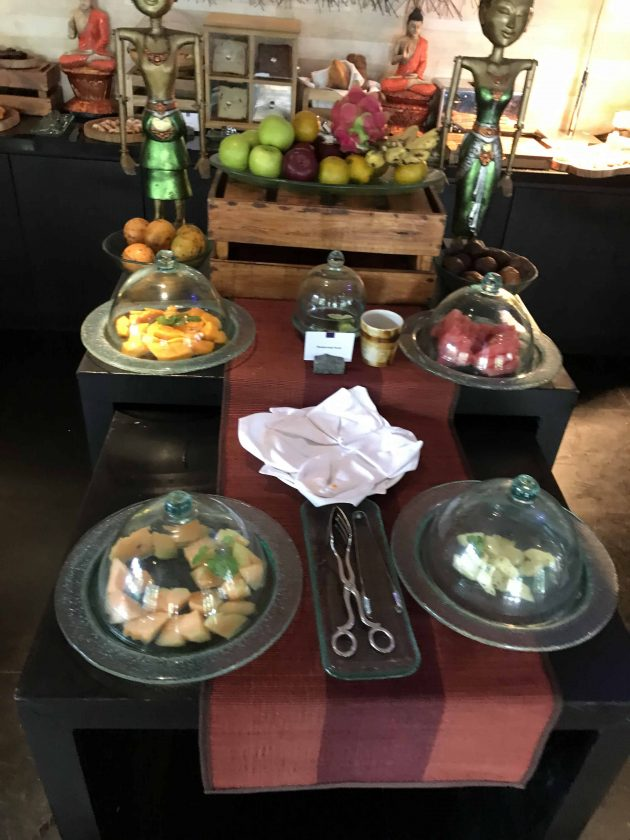 Conrad Bali Review Suite RIN Restaurant Breakfast 5