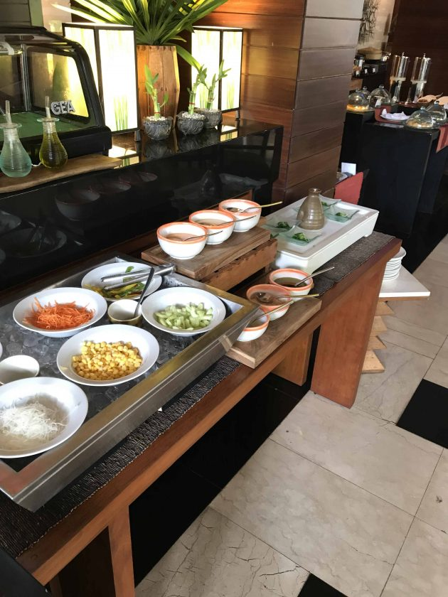 Conrad Bali Review Suite RIN Restaurant Breakfast 7
