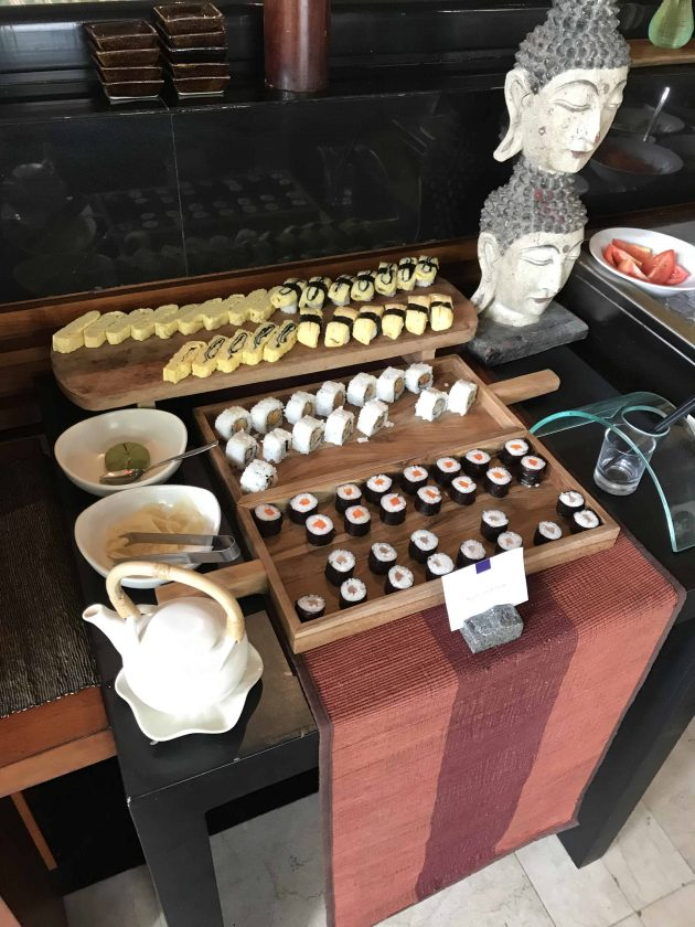 Conrad Bali Review Suite RIN Restaurant Breakfast 9