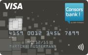 Consorsbank VISA-Kreditkarte