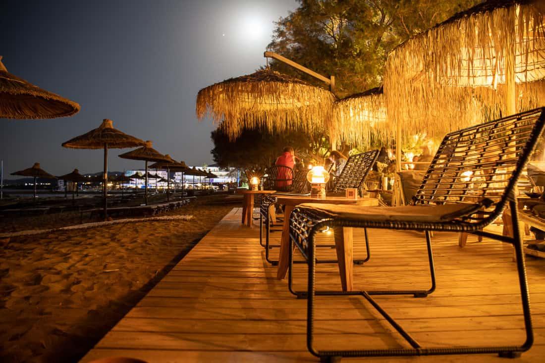 Cretan Malia Park Resort Beach Bar Sitz
