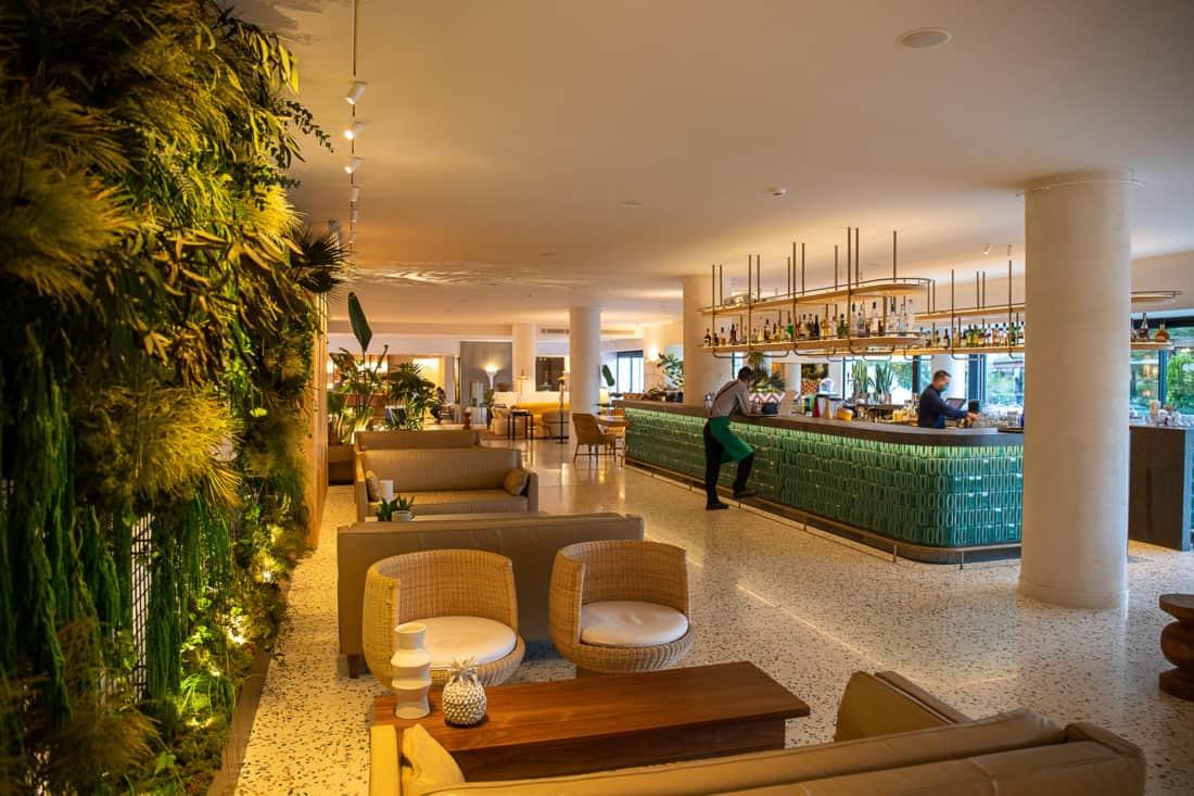 Cretan Malia Park Resort Lobby Bar