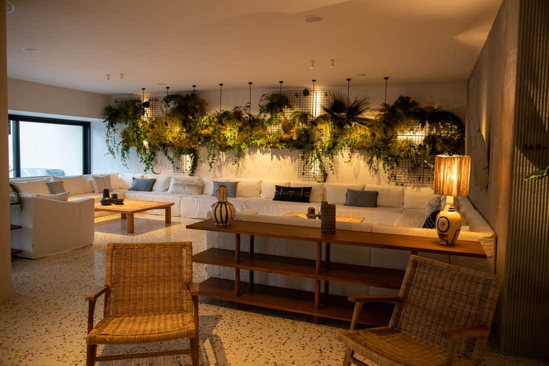 Cretan Malia Park Resort Lobby Bar Sitz