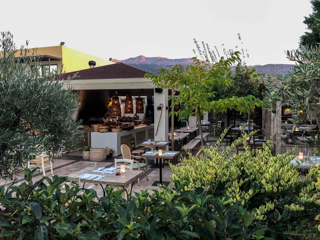 Cretan Malia Park Resort Restaurant Mouries