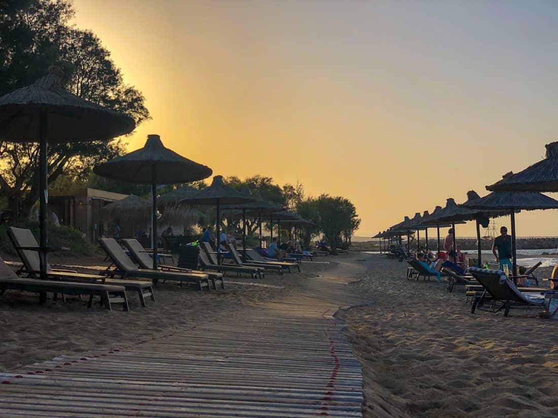 Cretan Malia Park Resort Strand 3