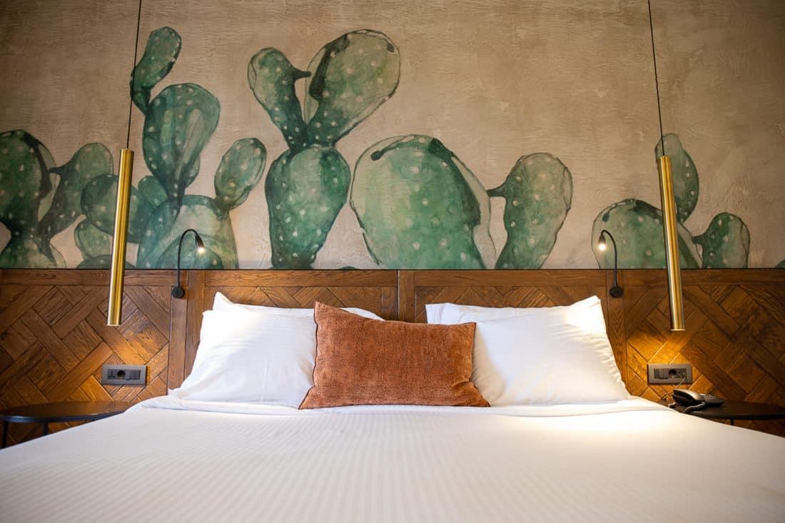 Cretan Malia Park Resort Zimmer Bett 2
