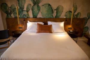 Cretan Malia Park Resort Zimmer Bett