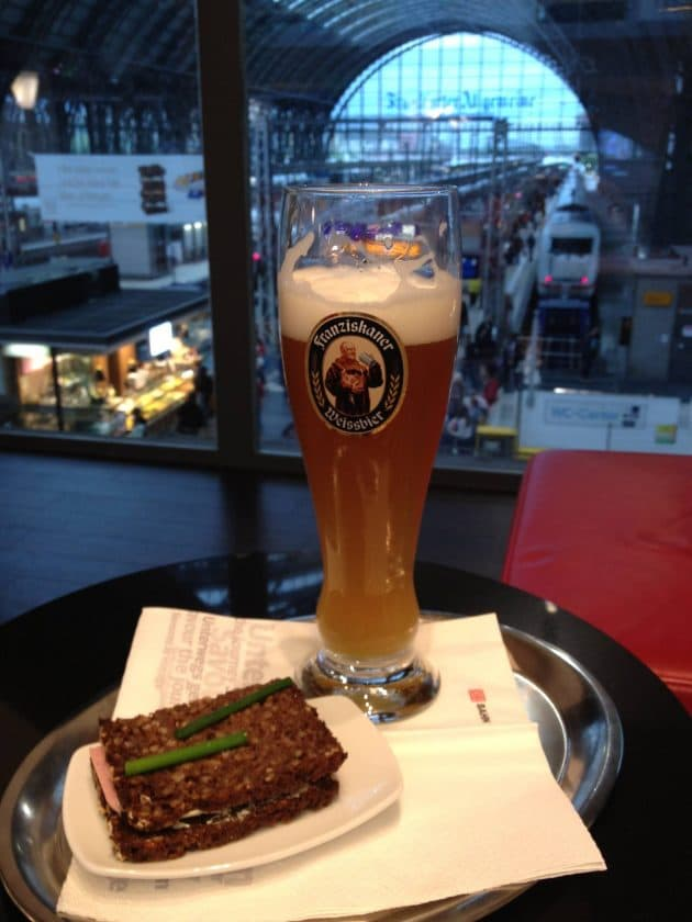 DB Lounge München 1. Klasse