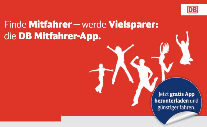 DB Mitfahrer App