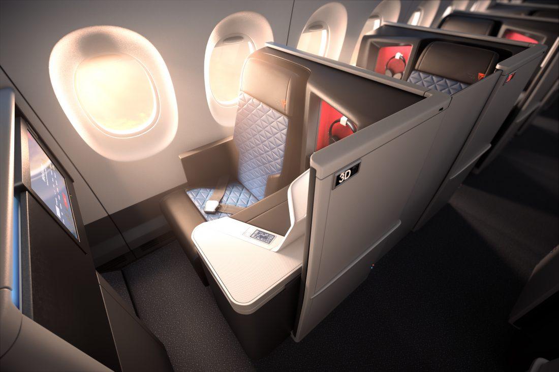 Delta Airlines A350 Suite Business Class