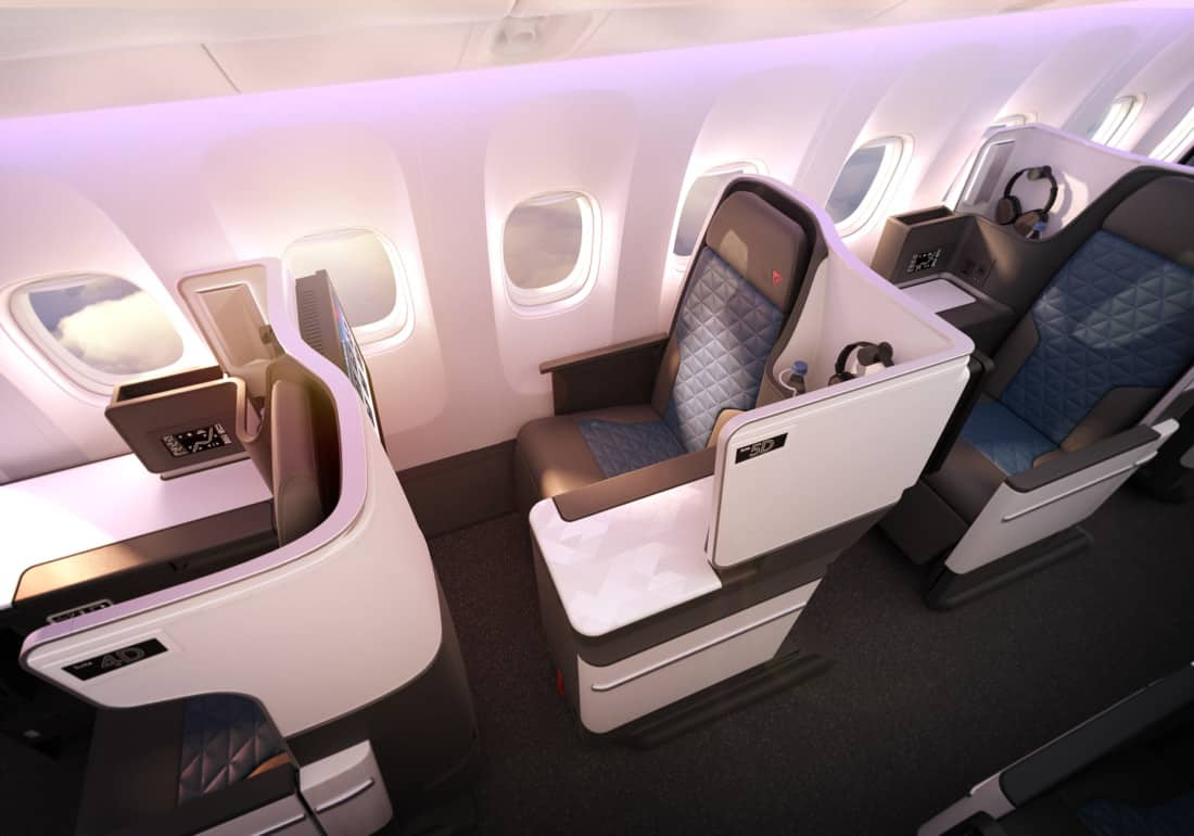 Delta One Business Class Boeing 767 400