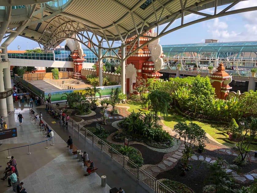 Denpasar Airport Bali Indonesien Terminal