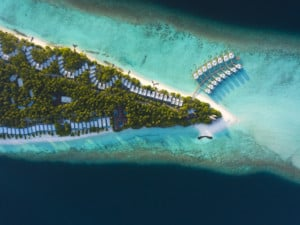 Dhigali Maledives Resort Areal
