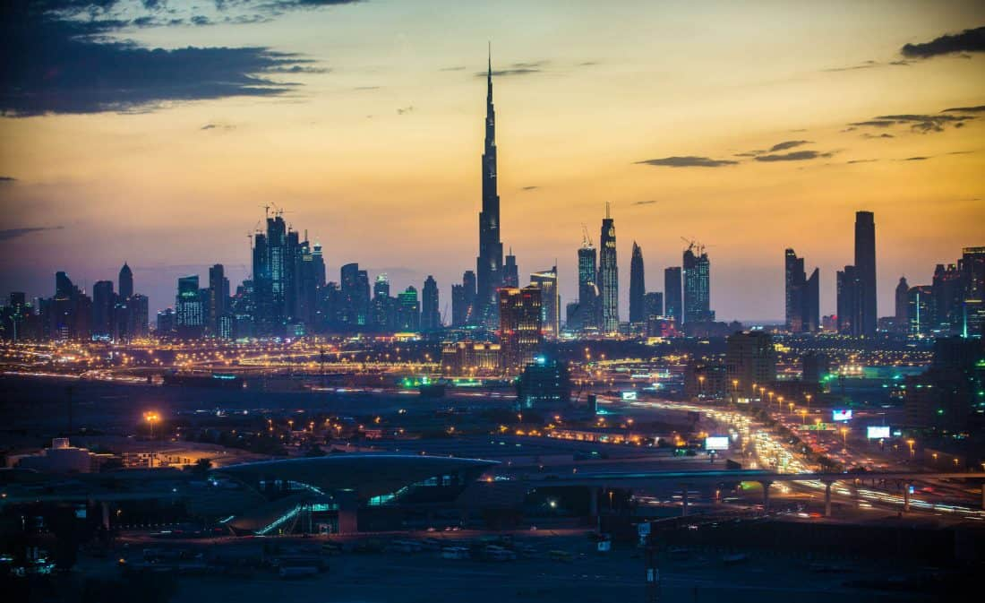 Dubai Skyline, VAE