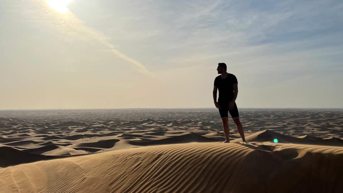 Dubai Wueste Dennis