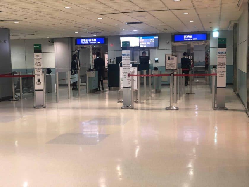 EVA Air Bewertung Boarding