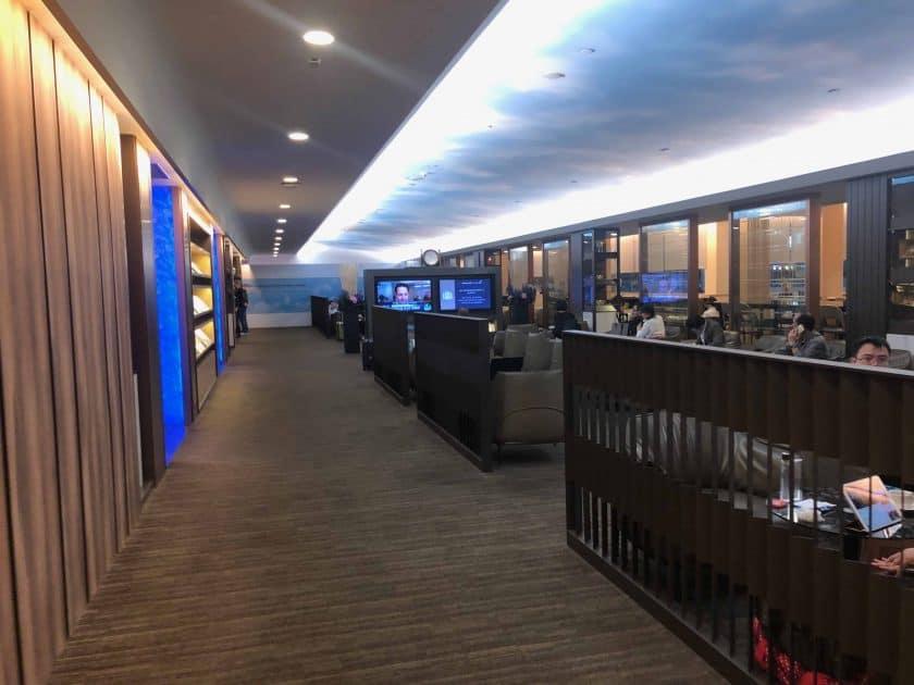 EVA Air Bewertung Lounge