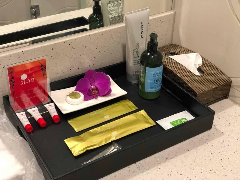 EVA Air Bewertung Lounge Dusche 2