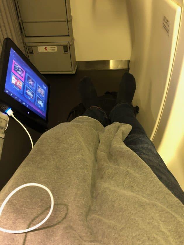 EVA Air Bewertung Recliner Seat