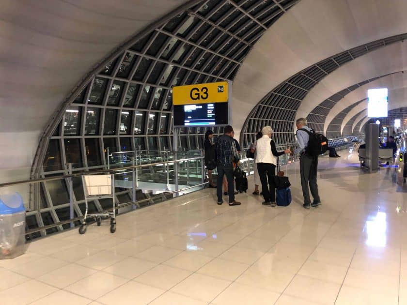 EVA Air Bewertung Transit Bangkok