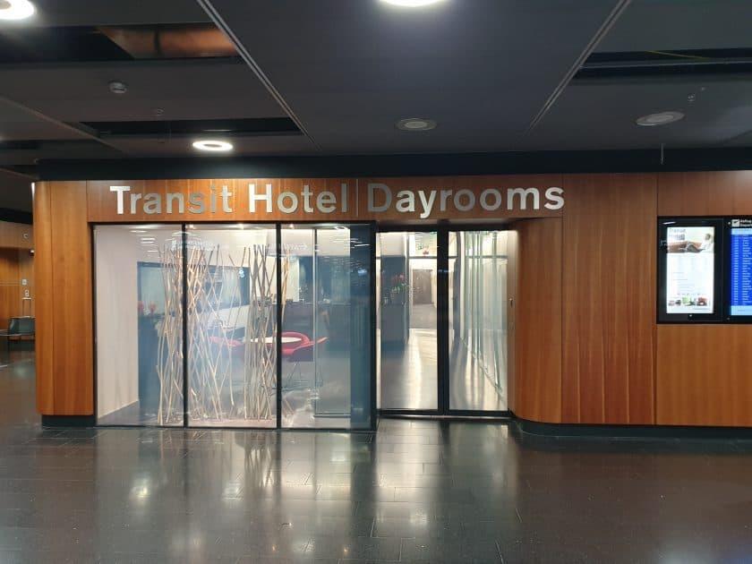 Eingang Dayrooms Zurich