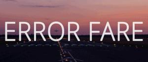 Error Fare