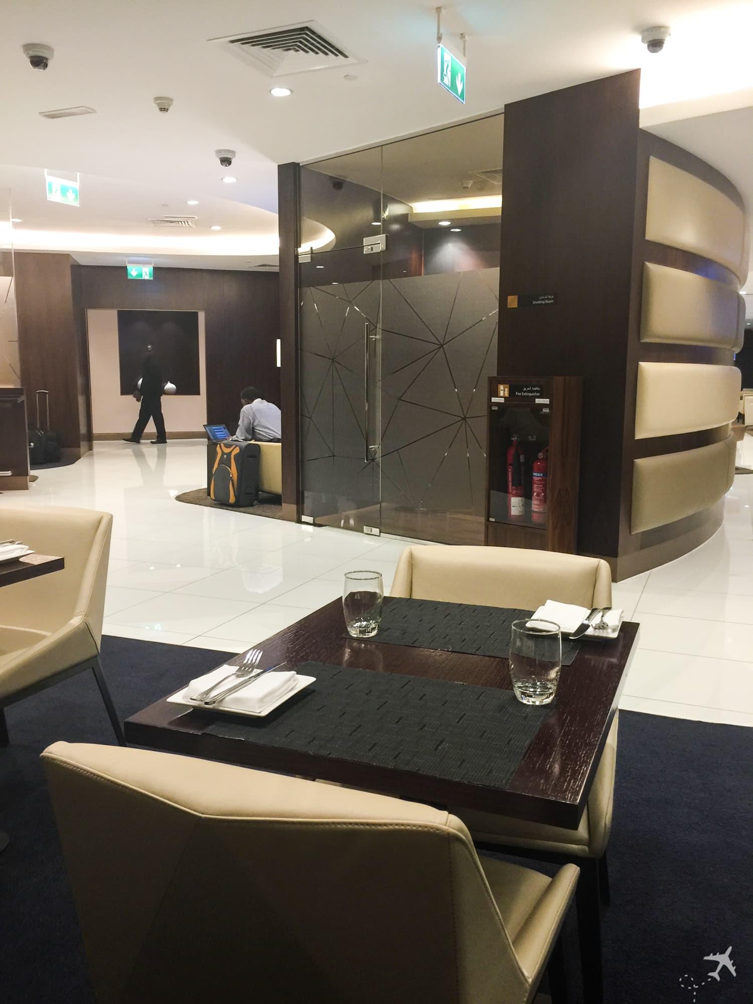 Etihad Airways Lounge Abu Dhabi
