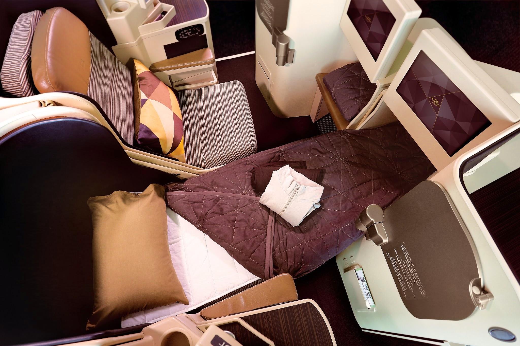 Etihad Airways Business Flatbed