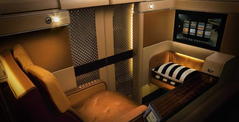 Etihad First Class Suite